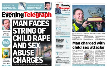 Evening Telegraph First Edition – February 06, 2019