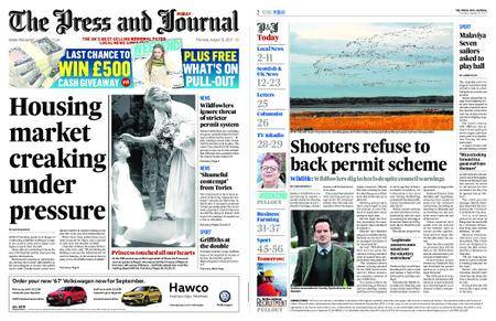 The Press and Journal Moray – August 31, 2017