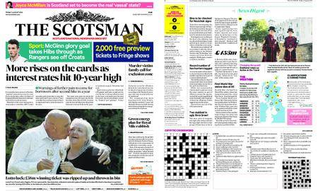 The Scotsman – August 03, 2018