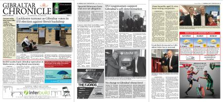 Gibraltar Chronicle – 24 May 2019