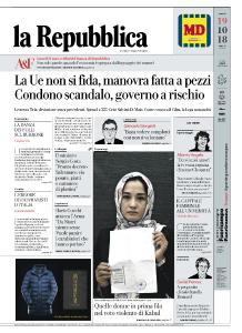 la Repubblica - 19 Ottobre 2018