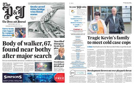 The Press and Journal Moray – October 11, 2019