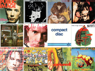 Public Image Ltd. (aka Public Image Limited, aka PiL) - Albums Collection 1978-2012 (13CD) [Re-Up]