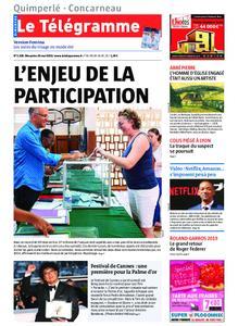 Le Télégramme Concarneau – 26 mai 2019