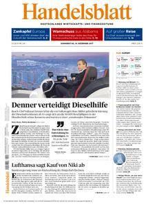 Handelsblatt - 14. Dezember 2017