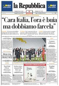 la Repubblica - 9 Marzo 2020