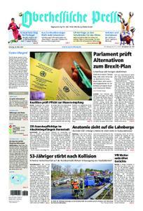 Oberhessische Presse Marburg/Ostkreis - 26. März 2019