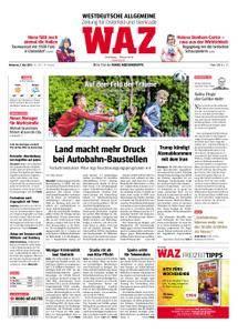 WAZ Westdeutsche Allgemeine Zeitung Oberhausen-Sterkrade - 09. Mai 2018