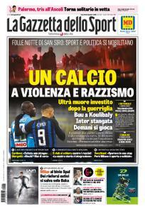 La Gazzetta dello Sport Sicilia – 28 dicembre 2018