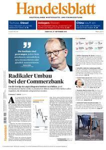 Handelsblatt - 27. September 2016