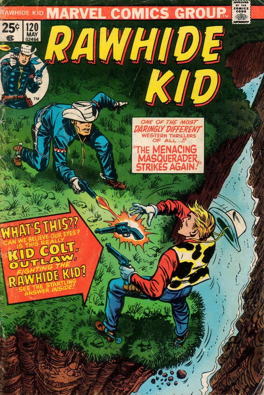 Rawhide Kid v1 120 1974 Mr Woodman