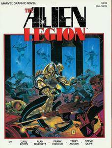 Marvel Graphic Novel 25 - The Alien Legion - A Grey Day to Die 1986