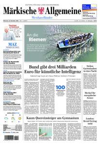 Märkische Allgemeine Westhavelländer - 14. November 2018