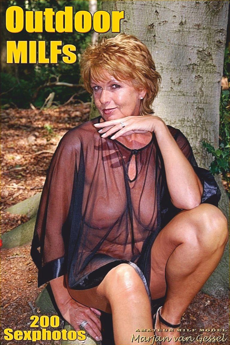 Sexy Outdoor MILFs Adult Photo Magazine - January 2019