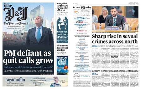 The Press and Journal Moray – September 25, 2019