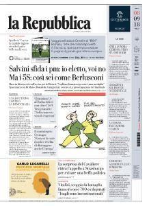 la Repubblica - 8 Settembre 2018