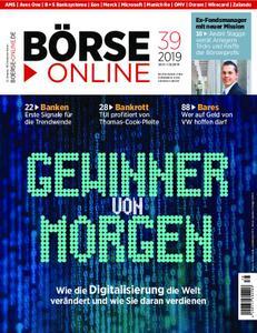 Börse Online – 26. September 2019