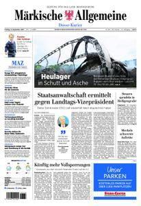 Märkische Allgemeine Dosse Kurier - 08. September 2017