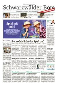 Schwarzwälder Bote Blumberg - 25. Oktober 2018