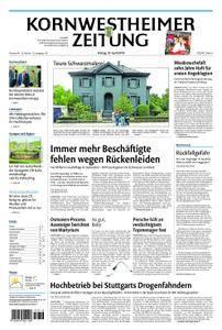 Kornwestheimer Zeitung - 20. April 2018