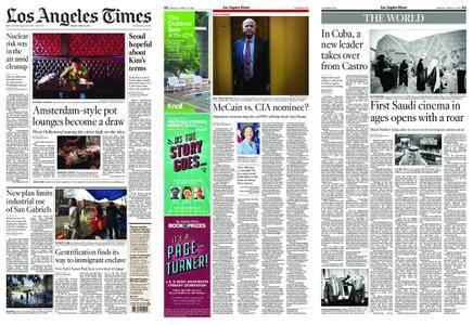 Los Angeles Times – April 20, 2018