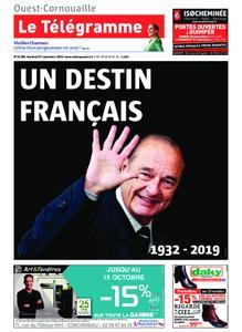 Le Télégramme Ouest Cornouaille – 27 septembre 2019