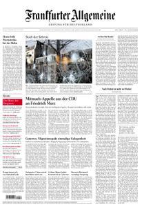 Frankfurter Allgemeine Zeitung F.A.Z. - 10. Dezember 2018