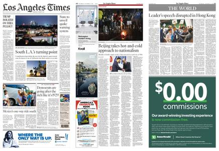 Los Angeles Times – October 17, 2019