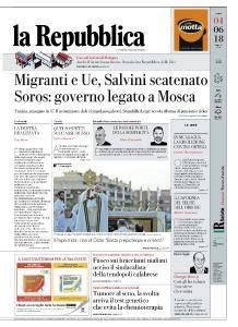 la Repubblica - 4 Giugno 2018