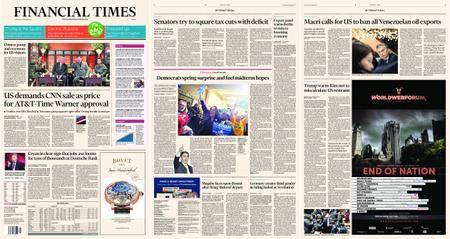 Financial Times Europe – 09 November 2017