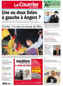 Le Courrier de l'Ouest Angers – 07 novembre 2019