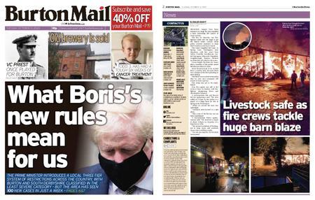 Burton Mail – October 13, 2020