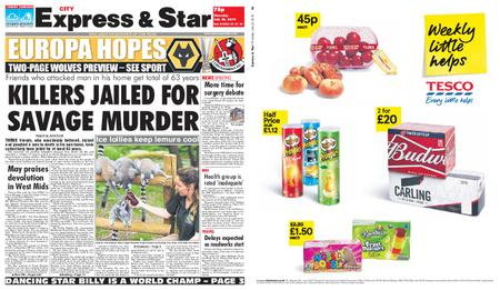 Express and Star City Edition – July 25, 2019