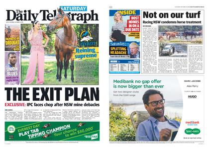 The Daily Telegraph (Sydney) – October 19, 2019