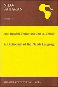 A Dictionary of the Nandi Language
