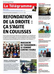 Le Télégramme Guingamp – 04 juin 2019