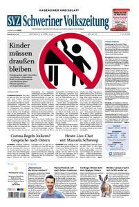 Schweriner Volkszeitung Hagenower Kreisblatt - 08. April 2020