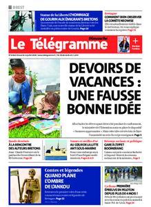 Le Télégramme Brest Abers Iroise – 12 juillet 2020