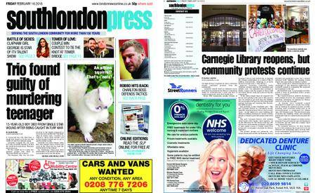 South London Press – February 16, 2018