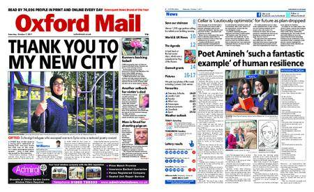 Oxford Mail – October 07, 2017