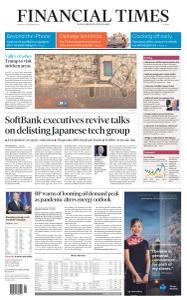 Financial Times Europe - September 14, 2020