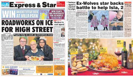 Express and Star Sandwell Edition – December 20, 2017
