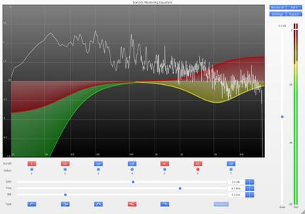 Sonoris Mastering Equalizer v1.0.4.0 WiN / OSX