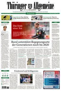 Thüringer Allgemeine Nordhausen - 03. April 2018