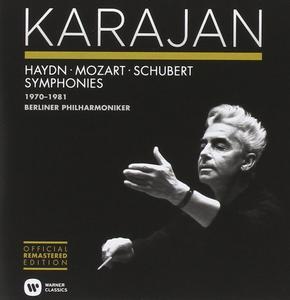 Herbert Von Karajan - Haydn, Mozart, Schubert: Symphonies 1970-1981 (2014) (8 CDs Box Set)