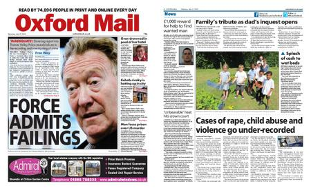 Oxford Mail – July 27, 2019