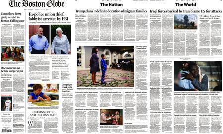 The Boston Globe – August 22, 2019