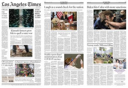 Los Angeles Times – July 23, 2021