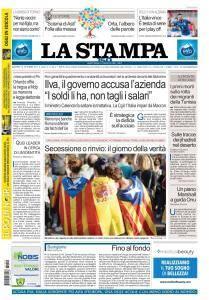 La Stampa Torino Provincia e Canavese - 10 Ottobre 2017