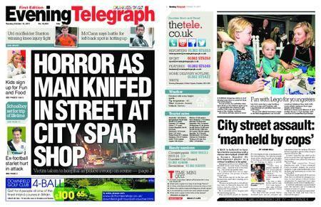 Evening Telegraph First Edition – October 10, 2017